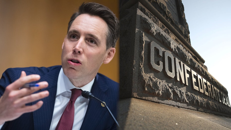 Sen. Hawley blasts Democrats' proposal to remove Confederate-named bases, says 'They're trying to use this to stir up a culture war'