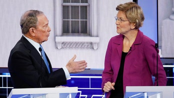 Warren targets Bloomberg during his first debate appearance