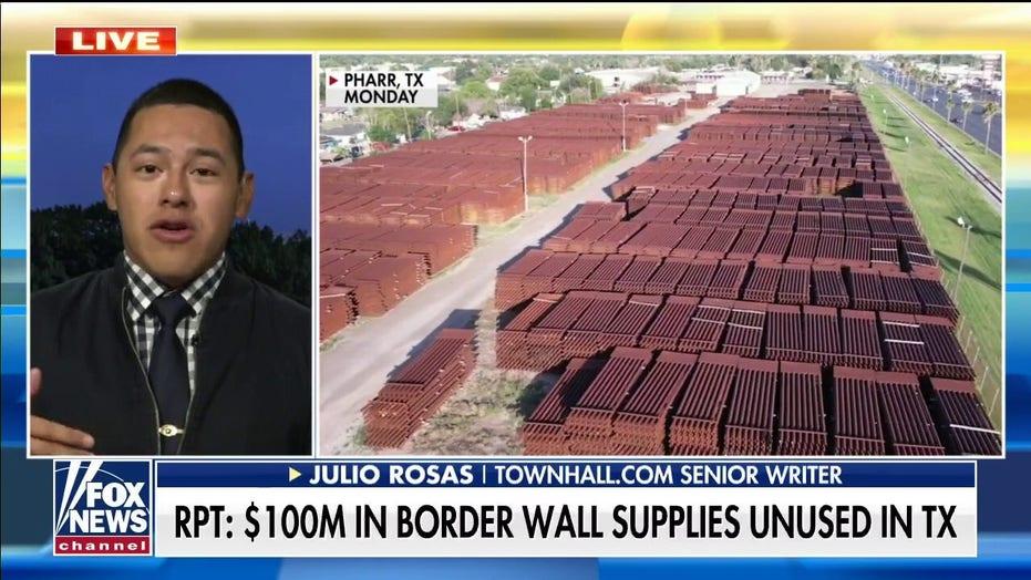 Julio Rosas slams Biden's border wall halt: Contractors being paid to not work