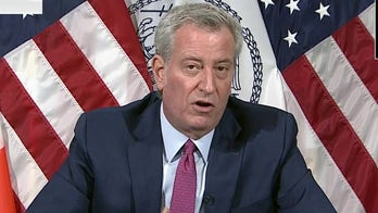 Bill de Blasio says NYC will run out of COVID-19 vaccine by Friday