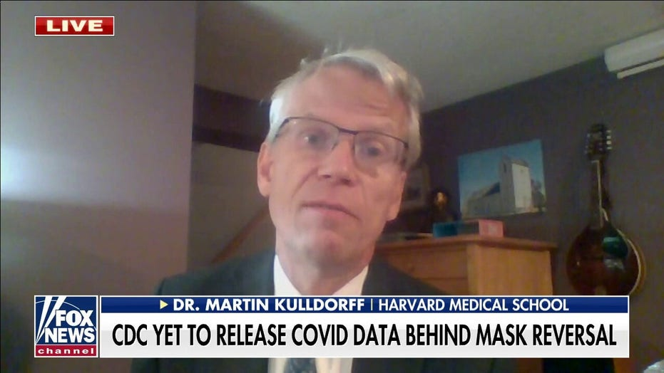 Scientific backing for CDC mask reversal most likely 'doesn't exist': Dr. Kulldorff