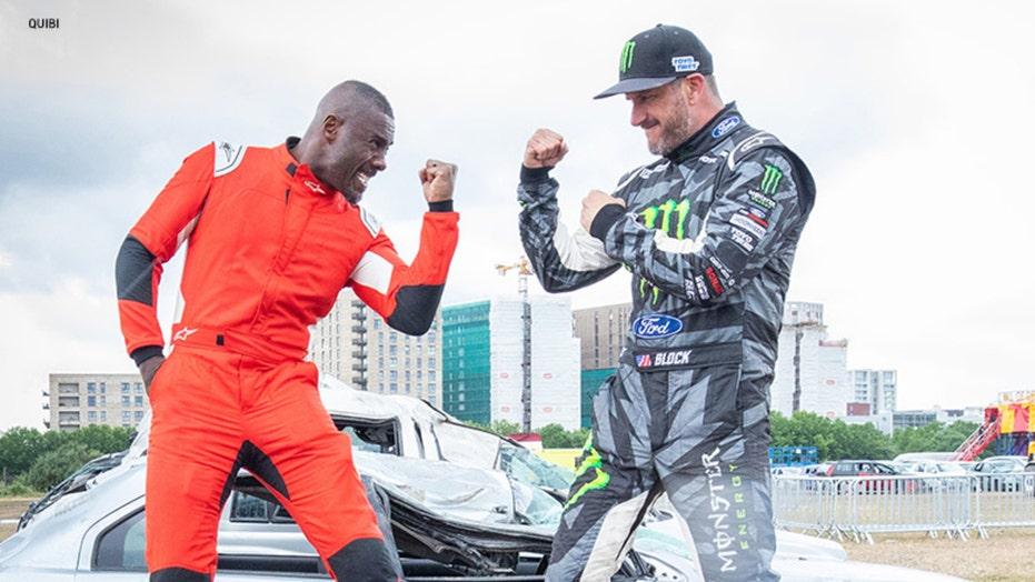 Can Idris Elba beat Ken Block?