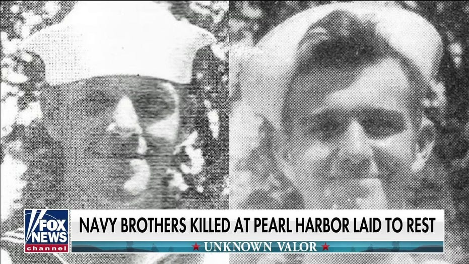 Indiana brothers who died in Pearl Harbor attack finally laid to rest, with honors, 80 years later
