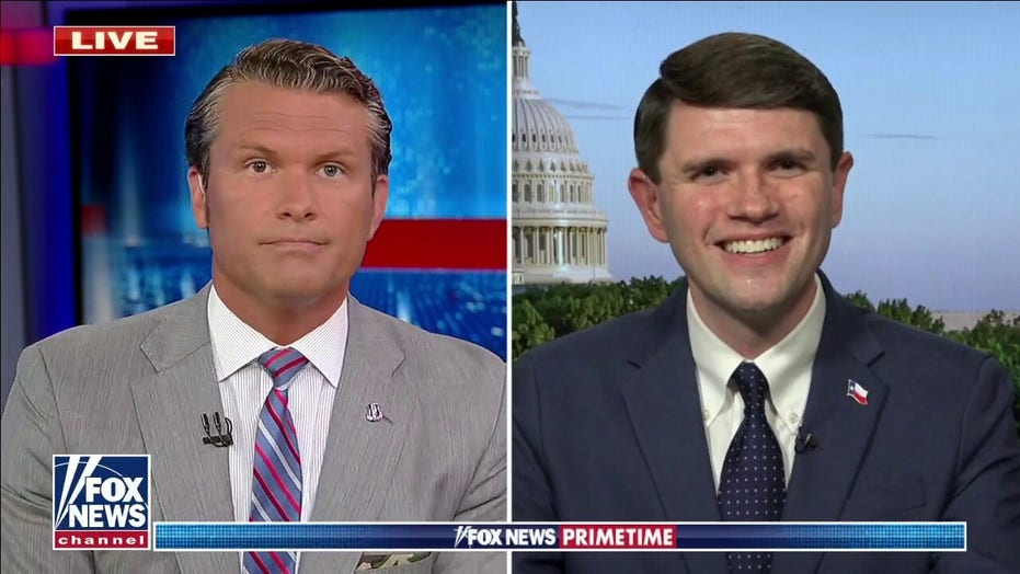 'You oppose Voter ID?': Hegseth clashes with Texas Democrat who fled quorum to DC over election reform bill