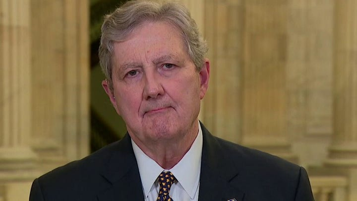 John Kennedy reveals the solution to the border crisis for Biden