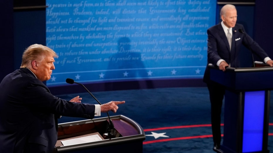 Trump-Biden presidential debate in Cleveland: 最佳 5 片刻