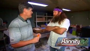 Fox News' Sean Hannity visits the 'Duck Dynasty' headquarters