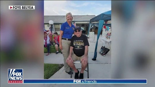 Veteran gets ultimate surprise for 93rd birthday