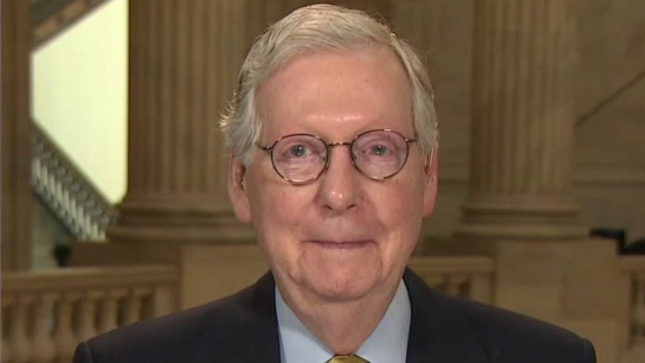 Mitch McConnell: 'Americans didn't sign up for Bernie Sanders' socialist vision'