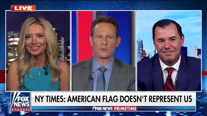 New York Times makes 'divisive' attempt to redesign America's flag