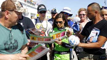 Danica Patrick says she doesn't miss racing, but only likes the real thing