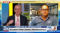 Restaurant owner compares operating in Florida and New York
