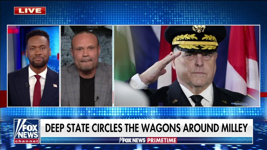 Bongino: If Milley warned China, 'he should be court-martialed'