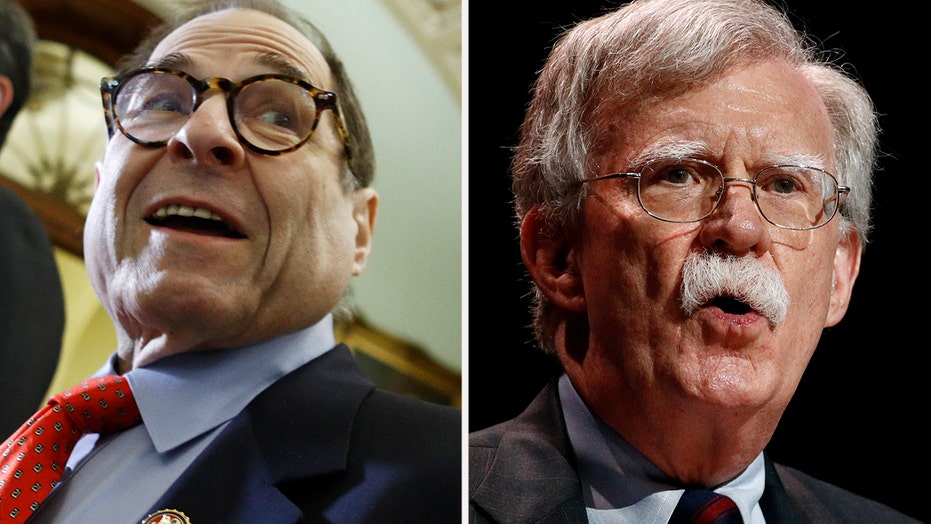 Nadler threatens Bolton subpoena after impeachment ends