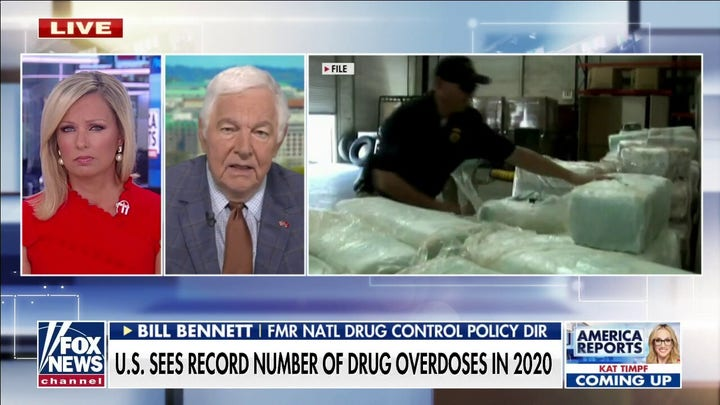 US sees record number of drug overdoses in 2020