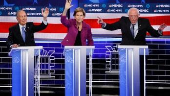 2020 Democrat's fundraising efforts