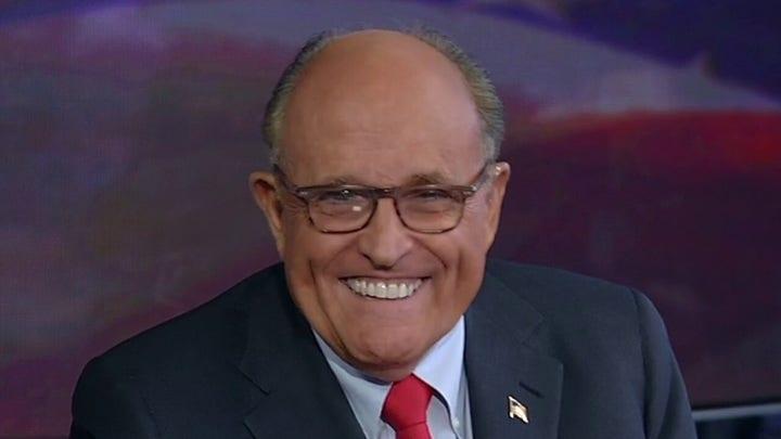 Rudy Giuliani on Trump's big week, investigating Hunter Biden