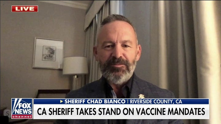 California sheriff refuses mandate to vaccinate officers