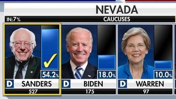 Bernie wins big in Nevada Caucus
