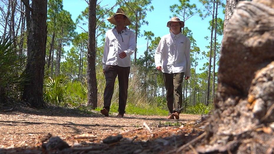 Navy veteran walking hundreds of miles, raising awareness for veteran mental health
