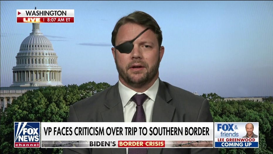 E Crenshaw: Biden, Harris like the border crisis and don't want to solve it