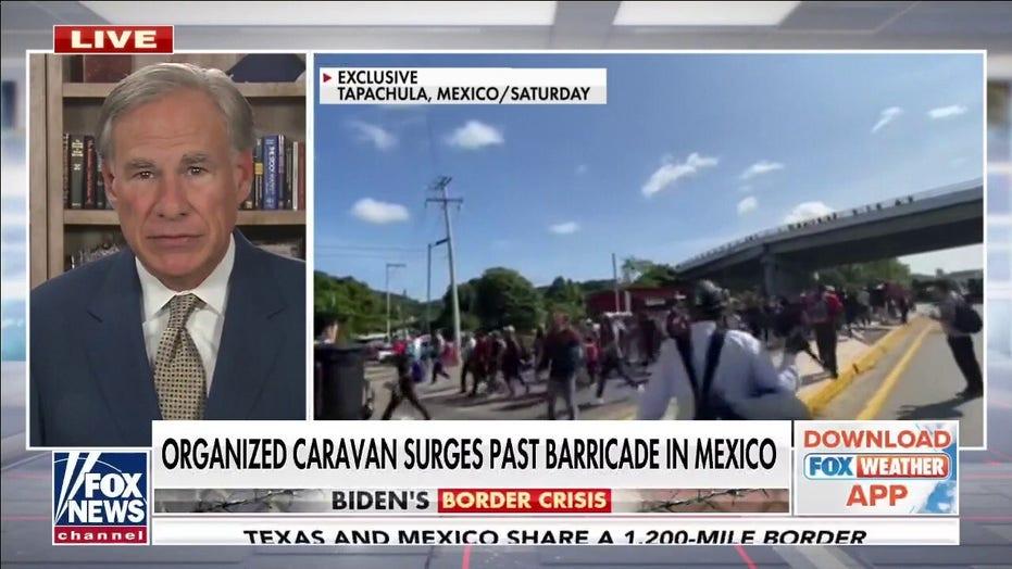 Texas Gov. Abbott: Joe Biden is AWOL, has abandoned 'any pretense' of border security