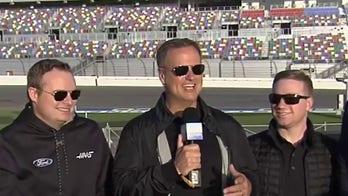 NASCAR rookies preview USAF Thunderbirds' Daytona 500 flyover