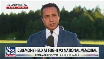President Biden visits the Shanksville memorial for United Flight 93