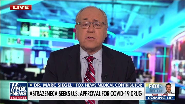 Dr. Siegel: AstraZeneca drug could protect unvaccinated individuals against COVID