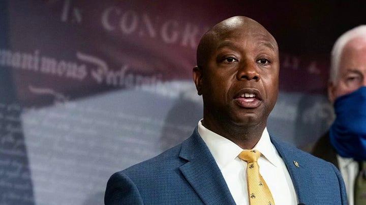 Sen. Tim Scott to deliver GOP rebuttal to Biden address