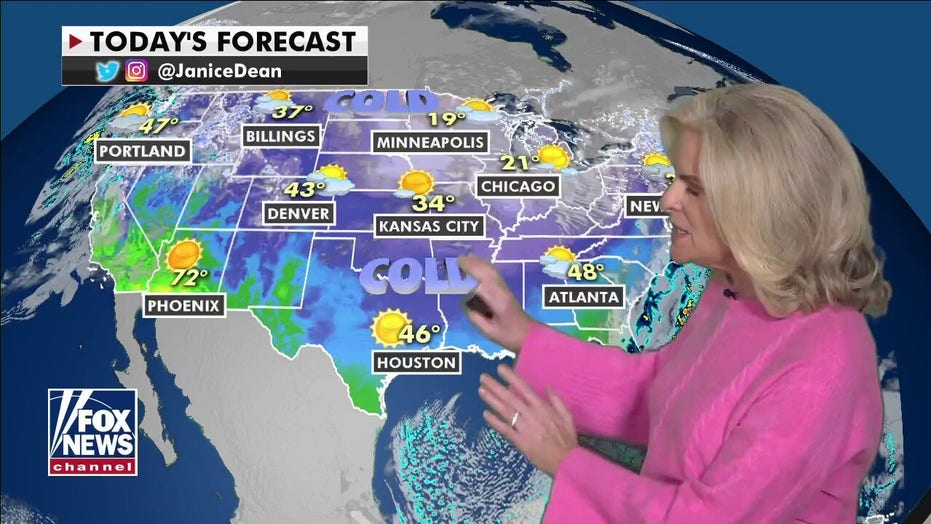 Temperatures to rise in the South following historic week of snow, cold and ice