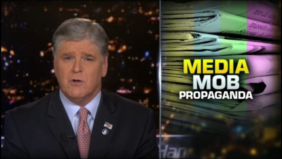Hannity calls media to issue retractions for working 'hand-in-hand' with Fusion GPS