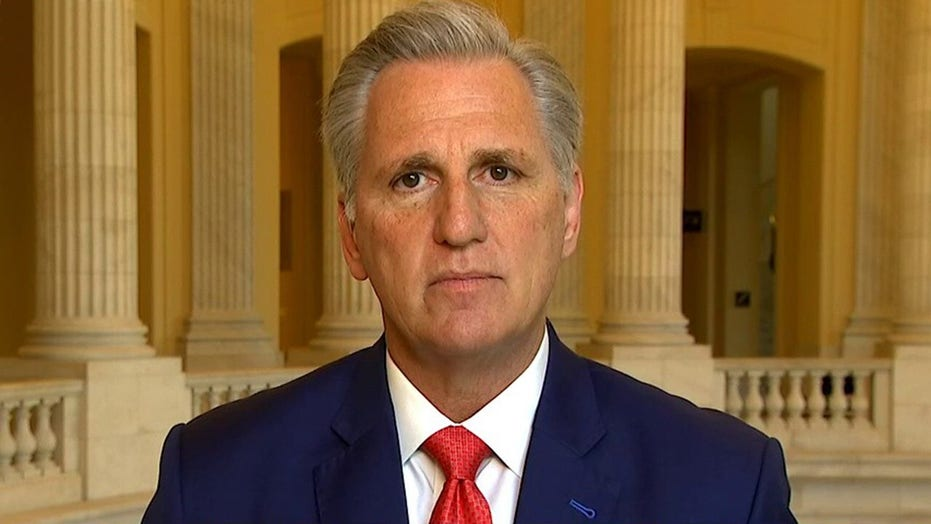 McCarthy: Pelosi playing politics by creating COVID-19 oversight committee