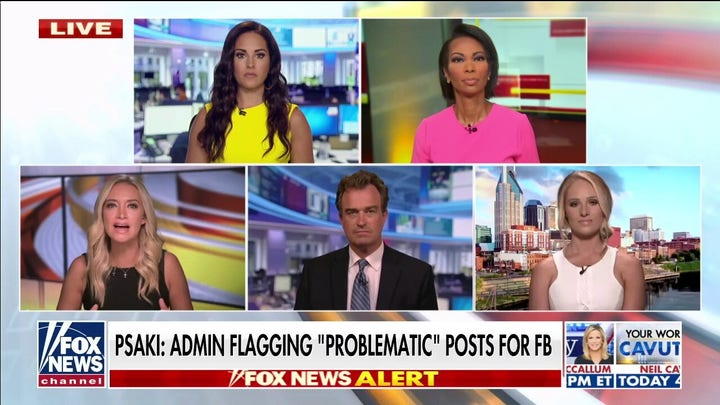 McEnany: 'My mouth dropped open' when I heard Psaki's admission the WH flagged FB posts