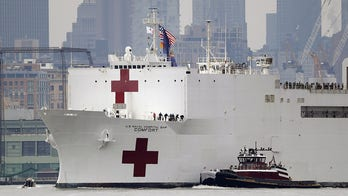 USNS Comfort will now take coronavirus patients as crew member tests positive for COVID-19