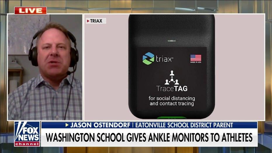 Washington school district halts program requiring athletes wear COVID tracking monitors