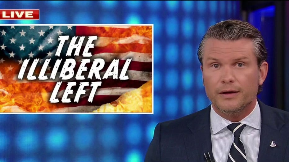 Pete Hegseth rips left for 'illiberal' outlook: 'Control speech. Control words. Control minds.'