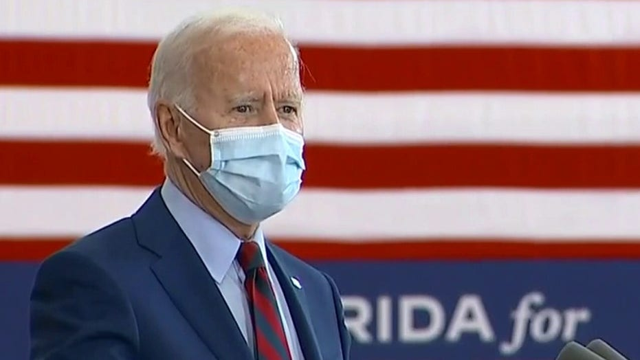 Biden urges the president to back universal mask mandate