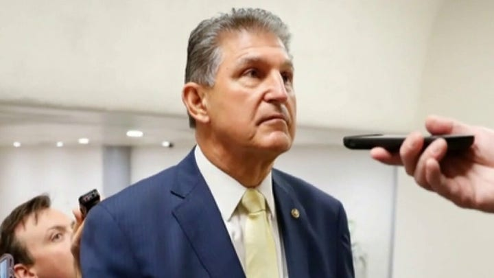 Sen. Manchin rejects Biden's plan to raise corporate tax rates