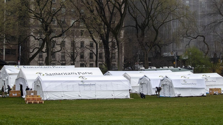 Samaritan's Purse, Mount Sinai Health System opens field hospital in New York's Central Park