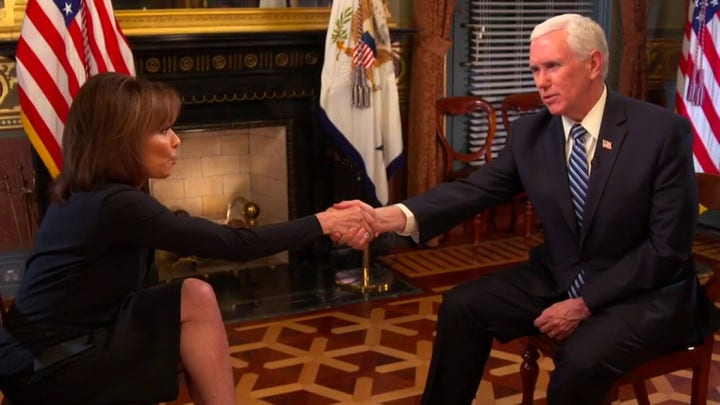 Vice President Pence's message to Americans concerned about the coronavirus