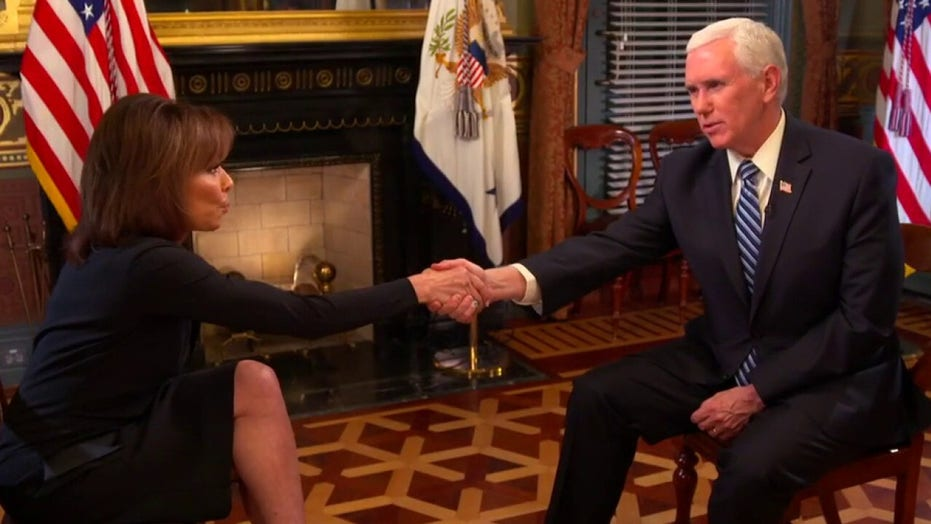 Vice President Mike Pence's message to Americans concerned about the coronavirus