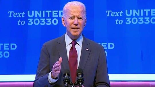 Biden's whistle-stop: Democratic nominee taking post-debate train swing