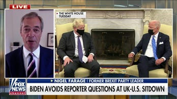 Nigel Farage on Biden's 'utterly bizarre' meeting with Boris Johnson: Is he actually 'fit' for office?