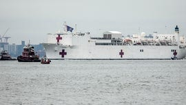 Only 20 patients currently being treated on USNS Comfort in NYC