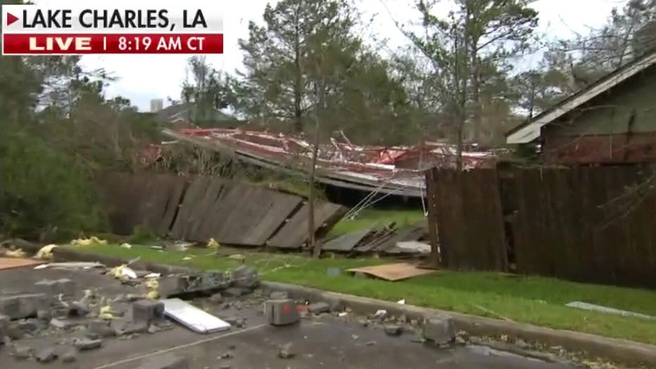 First look at hurricane damage in Lake Charles, Louisiana
