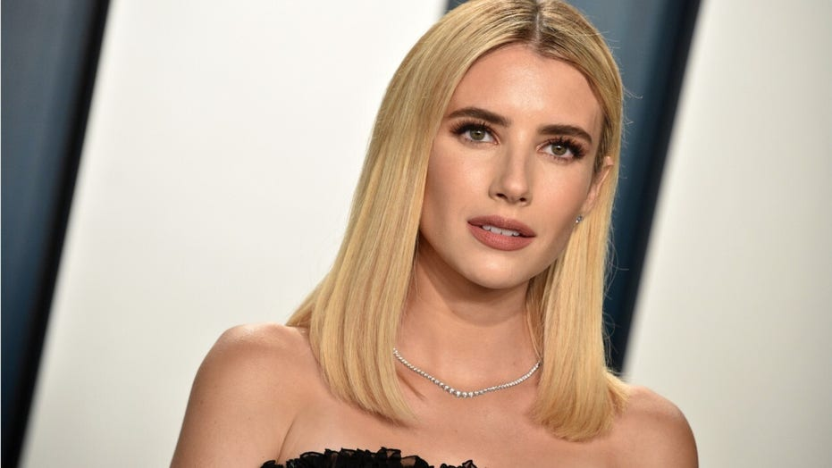 Emma Roberts shares first image of newborn son Rhodes with boyfriend Garrett Hedlund