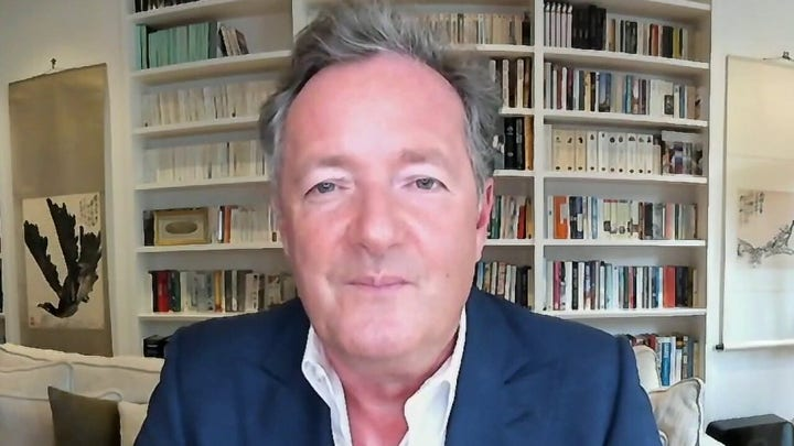 Piers Morgan on how Biden was viewed while in the UK