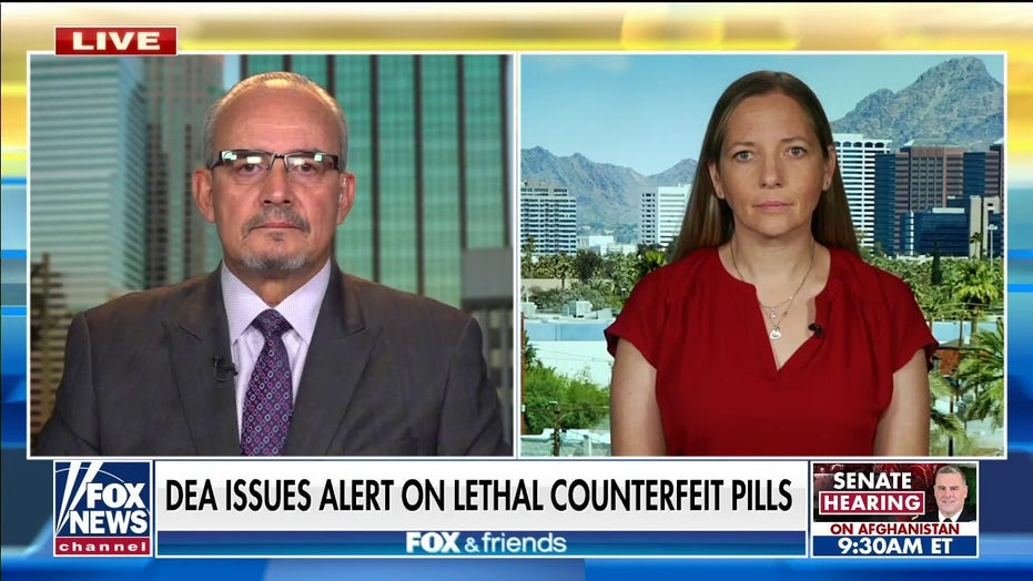 Parents who lost children to fentanyl poisoning sound alarm about counterfeit pills coming across border