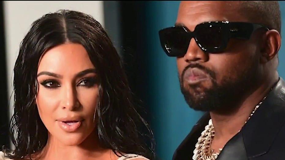 Kanye West deletes tweet about divorcing Kim Kardashian